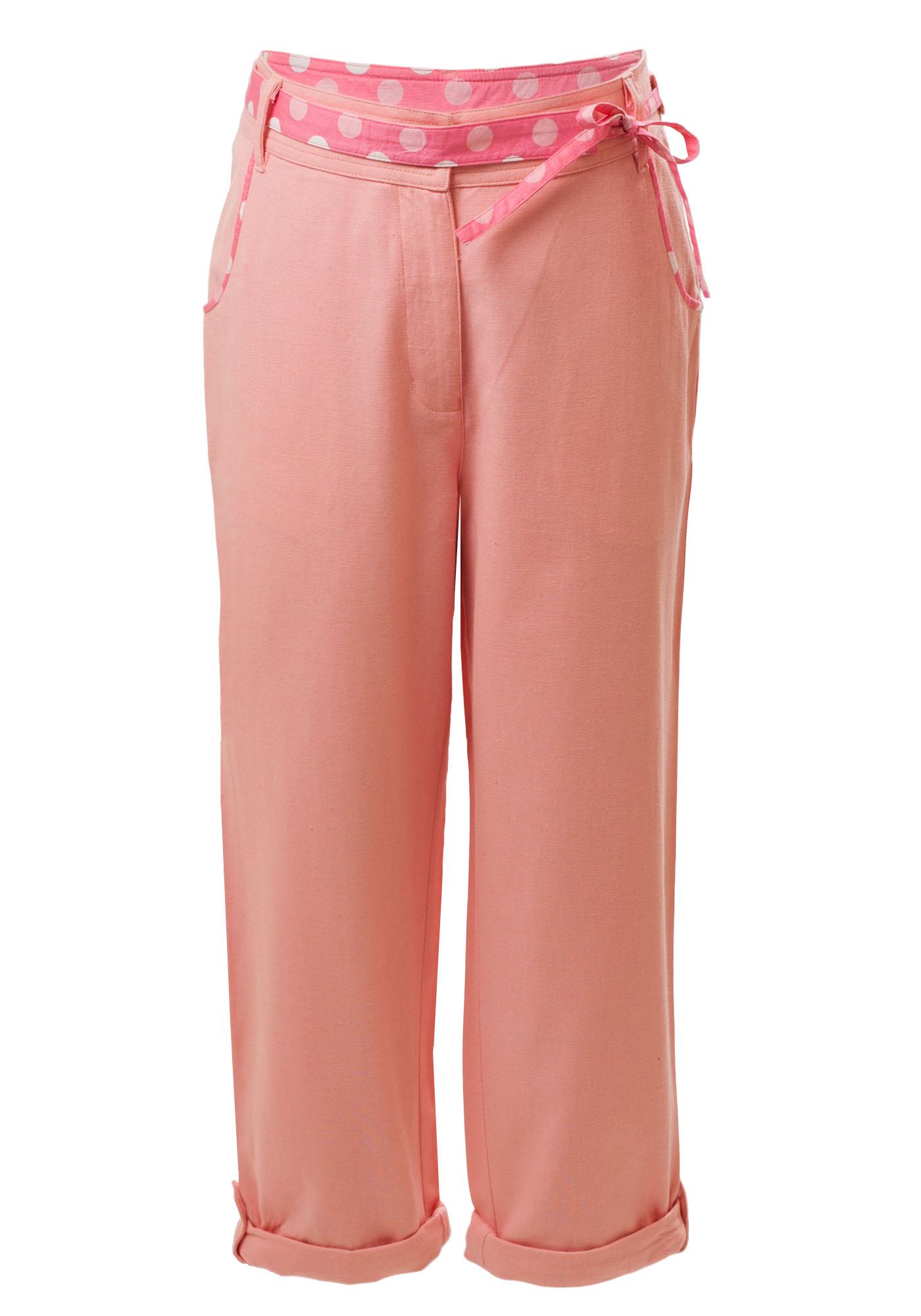 MINC Petite - Buy Sunset Girls Capris in Berry Pink Cotton Online